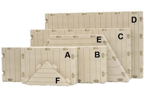 ez-dock sections